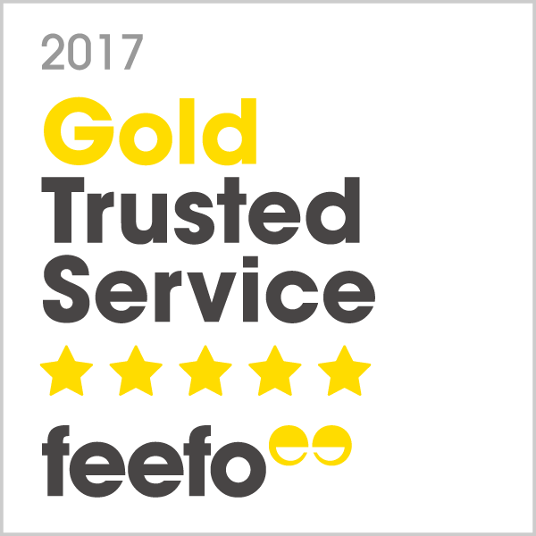 Gold Member Of Feefo!